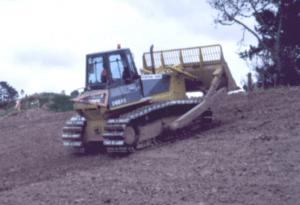 Photograph of bulldozer.